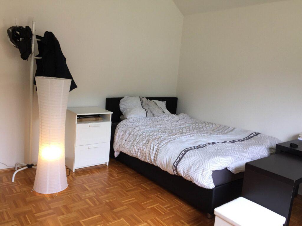 Chambre double meublée (B) – duplex moderne | Kirchberg, 5 rue Kirchberg - 'HOCKNEY'-1