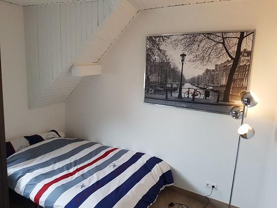 Spacious double bedroom (B) – modern flat | Gasperich / Gare, 144, rue de Muehlenweg - 'DEGAS'-1