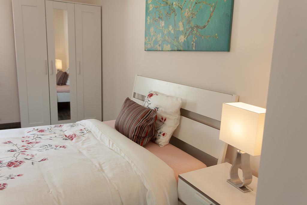Grande chambre double (E) – duplex moderne | Kirchberg, 3b, rue de Kirchberg - 'RENOIR'-1