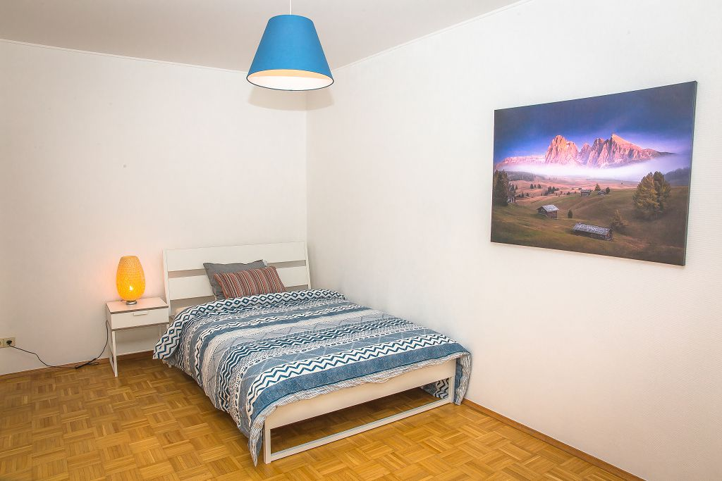 Large furnished double (D) with balcony – brand new flat | Kirchberg, 1a rue de Kirchberg - 'CARAVAGGIO'-1