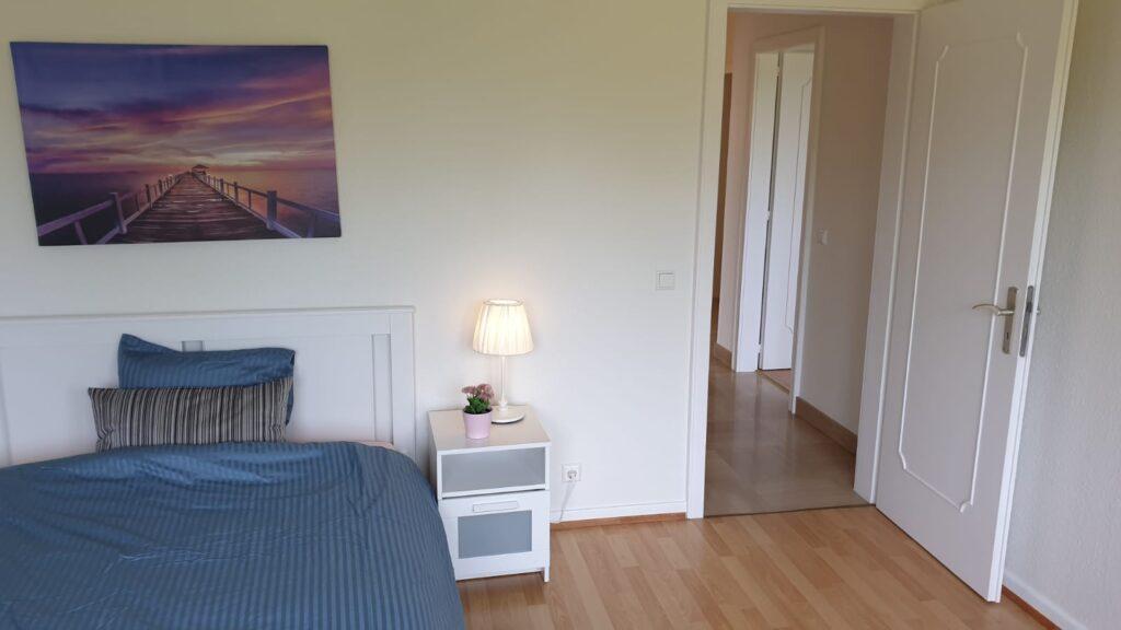 Extra large furnished double bedroom (D) – brand new flatshare | Cloche d'or, rue de Cessange - 'SKAGEN'-1
