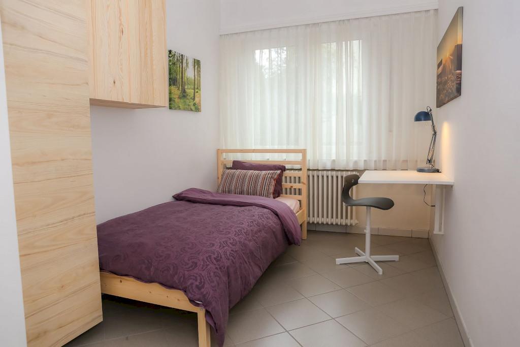Furnished single bedroom (B) – new central flatshare | Petrusse, Boulevard Charles Marx- 'PISSARRO'-1