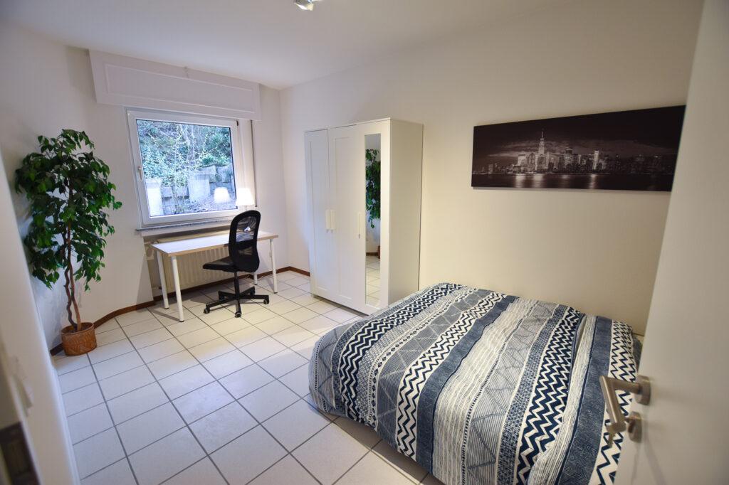 Furnished double bedroom (A) – high-end house | Strassen/Belair, 27 Val Fleuri - 'WARHOL'-1