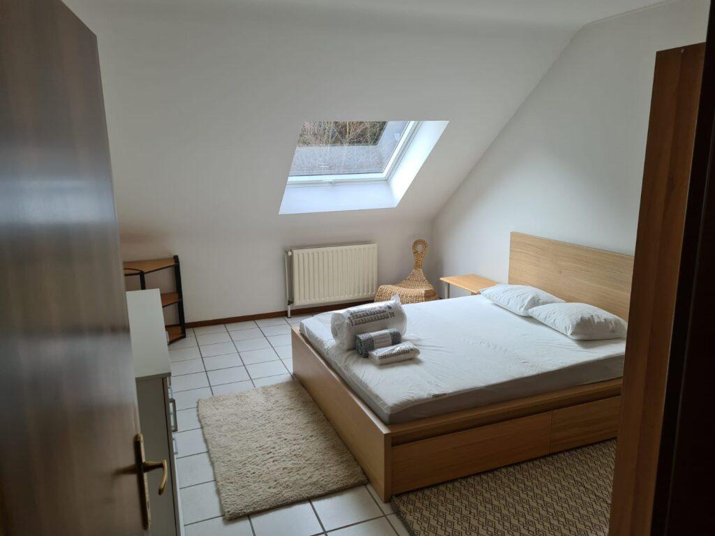 Furnished double bedroom (D) – brand new high-end triplex | Strassen/Belair, 27 Val Fleuri - 'WARHOL'-1